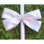 Комплект в розово с кръстче