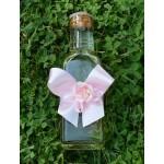 Комплект за момиче розов сатен
