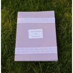 Кръщелен комплект в лилаво