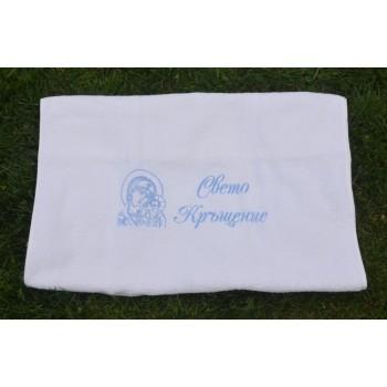 Кърпа за момче с Богородица