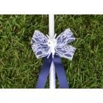 Комплект в кралско синьо с ангелче
