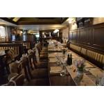 Винтидж украса на ресторант за кръщене